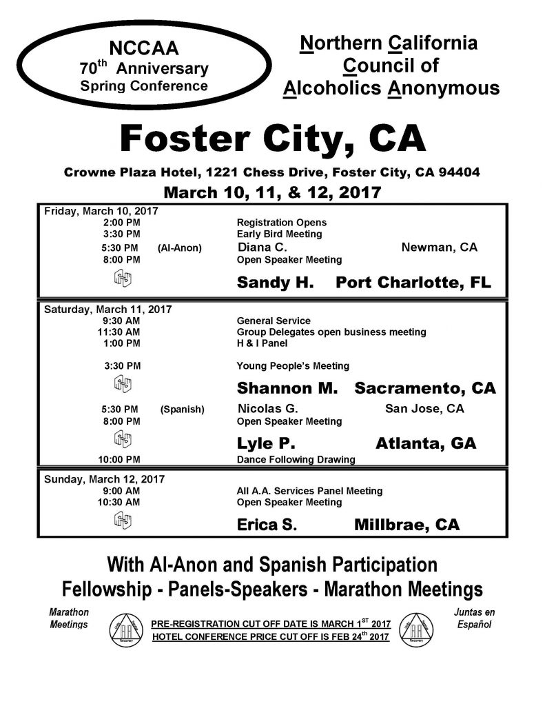 Foster City 2017 Flyer