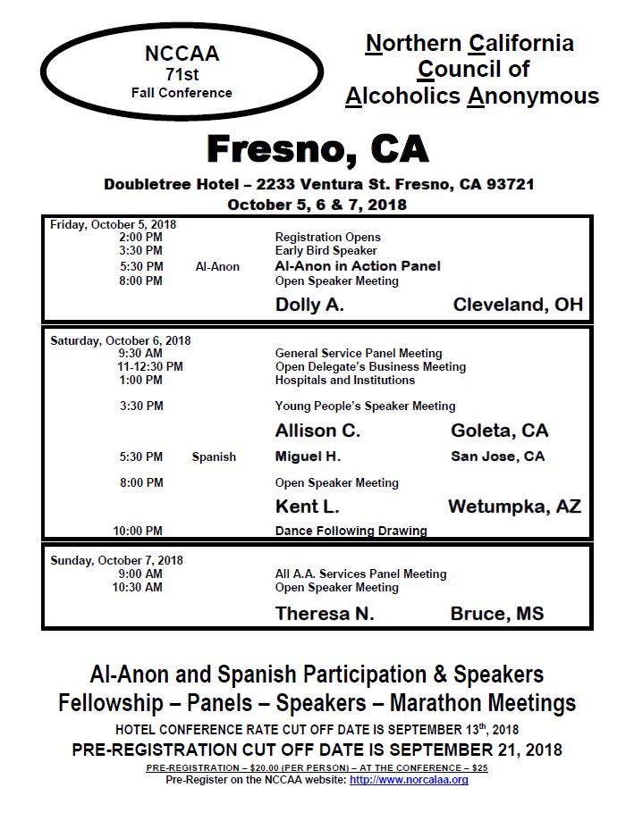 Fresno Conference Flyer